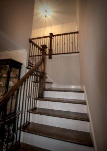 Wood Craftsmanship Stairs