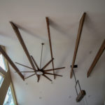 Exposed Vaulted Ceiling Beams