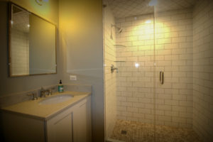 Guest Bathroom Update with Subway Tile Shower