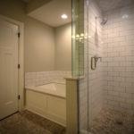 Bathroom Upgrade With Subway Tile Shower