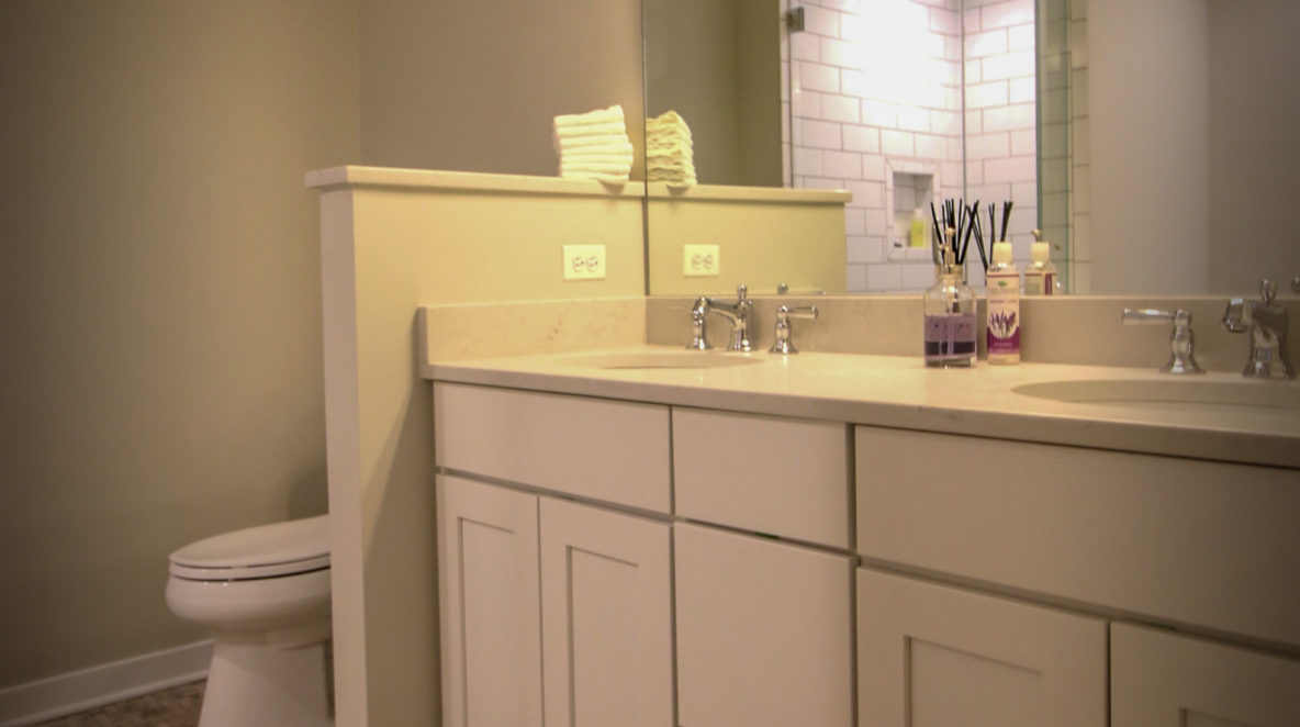 Bathroom Upgrade with Elegant Vanity