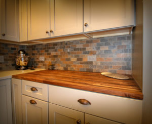 Kitchen Upgrade with Butcher Block Counter Top
