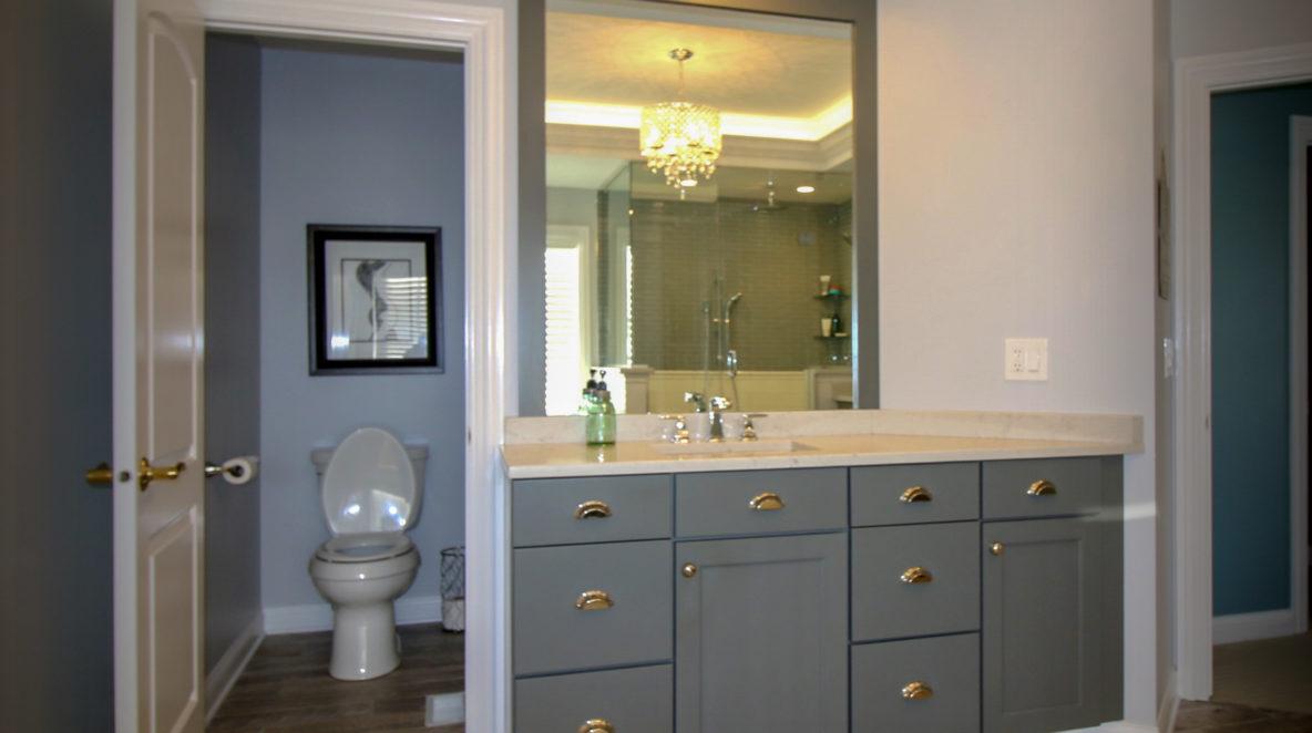 Custom Vanity Bathroom Remodel