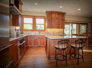 Kitchen Update with Furniture-like Island