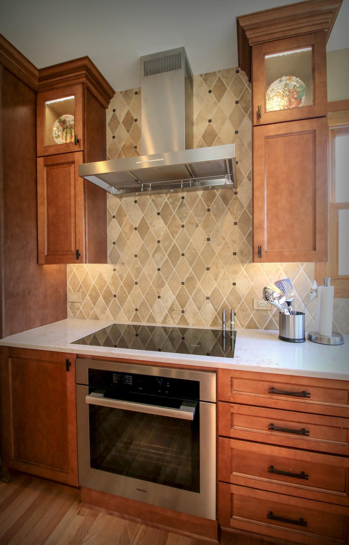 Custom Tile Backsplash in Kitchen Update