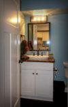 Guest Bathroom with Custom Vanity Top