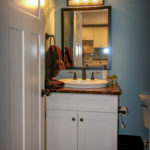 Guest Bathroom with Custom Vanity Top
