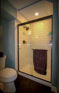 Guest Bathroom in Basement