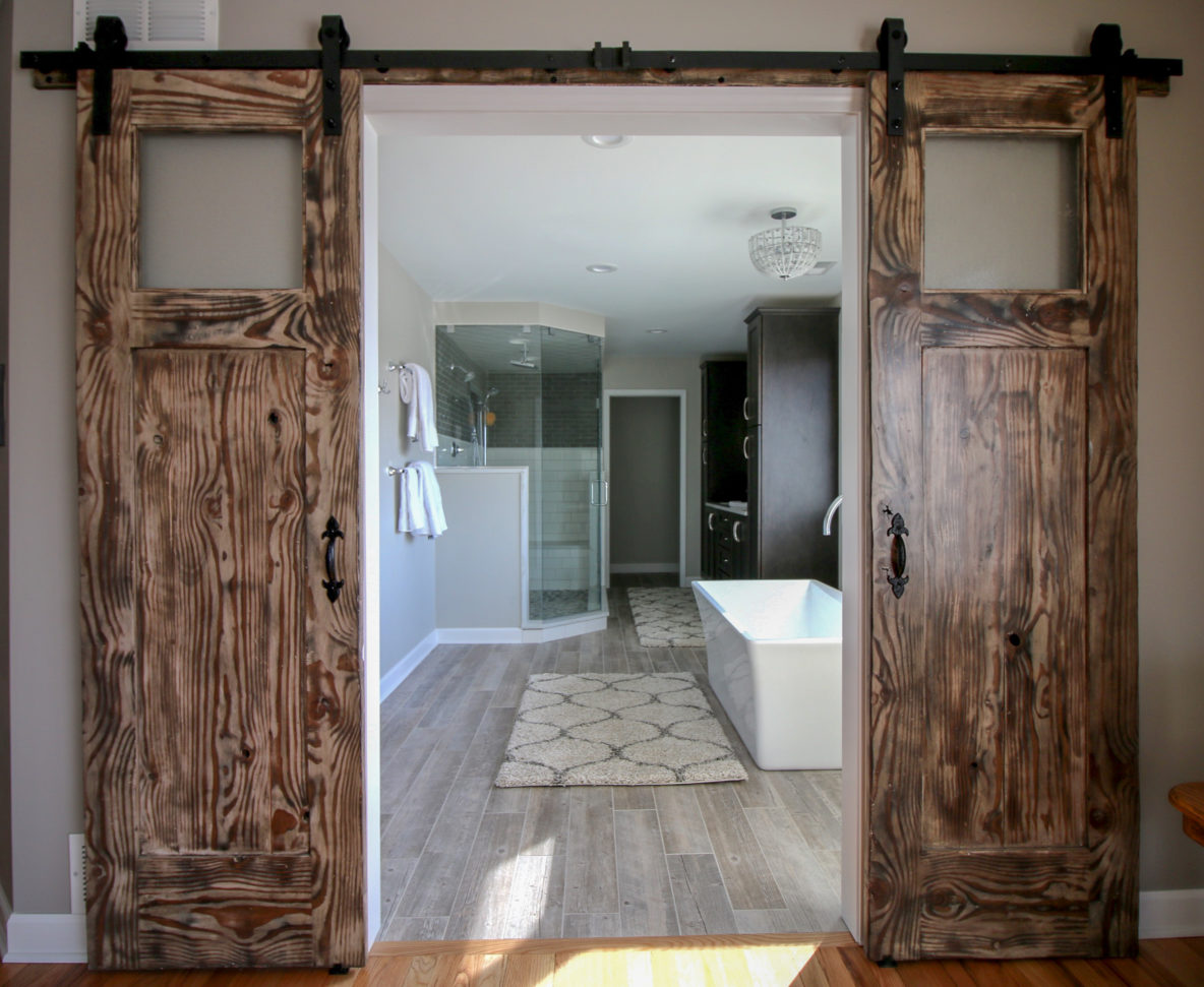 Double Barn Doors