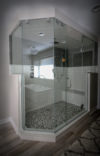Large Custom Shower with Multiple Shower Heads