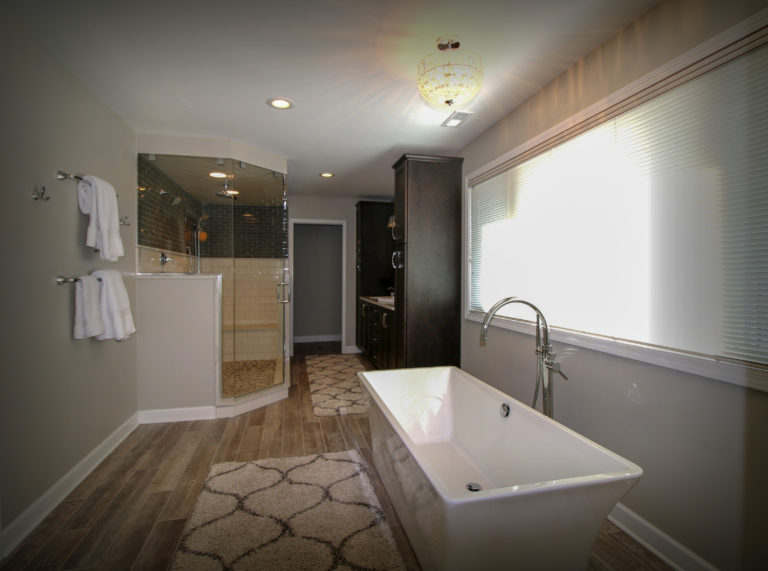 Bathroom Remodel with Steam Shower