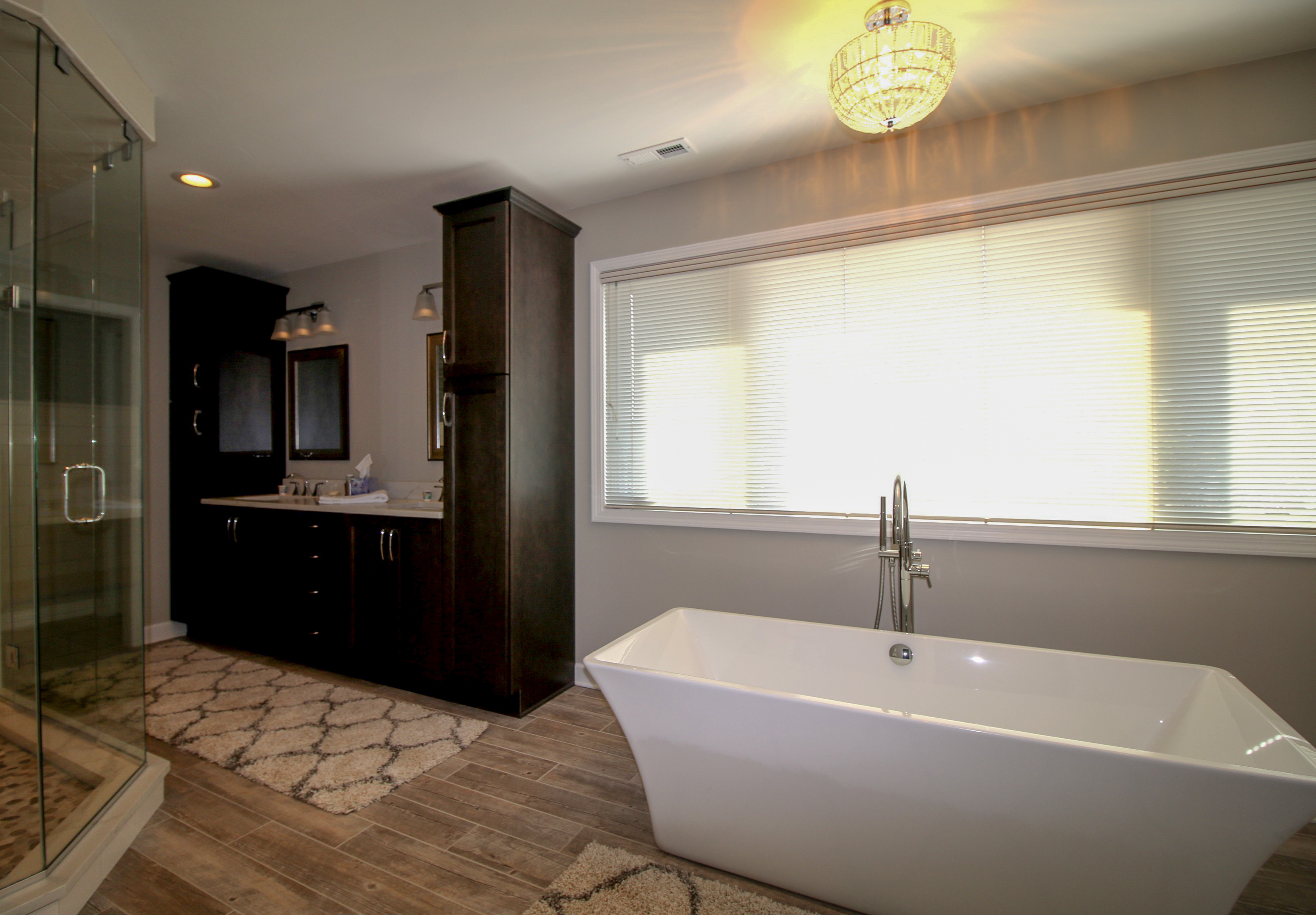 Bathroom Remodel with Standalone Soaking Tub