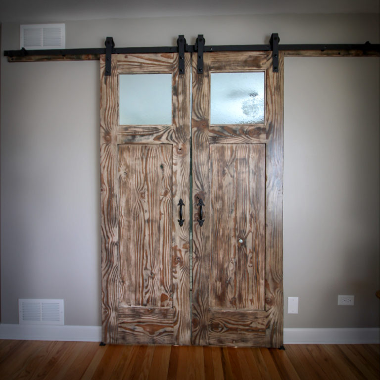 Custom Barn Doors with Amazing Wood Grains