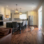 Open-plan Kitchen and Living Space