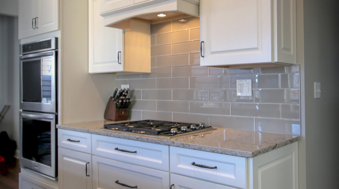 Kitchen Update with Custom Hood and Double Ranges