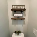 Chucky Wood Shelves with Black Industrial Pipe Brackets