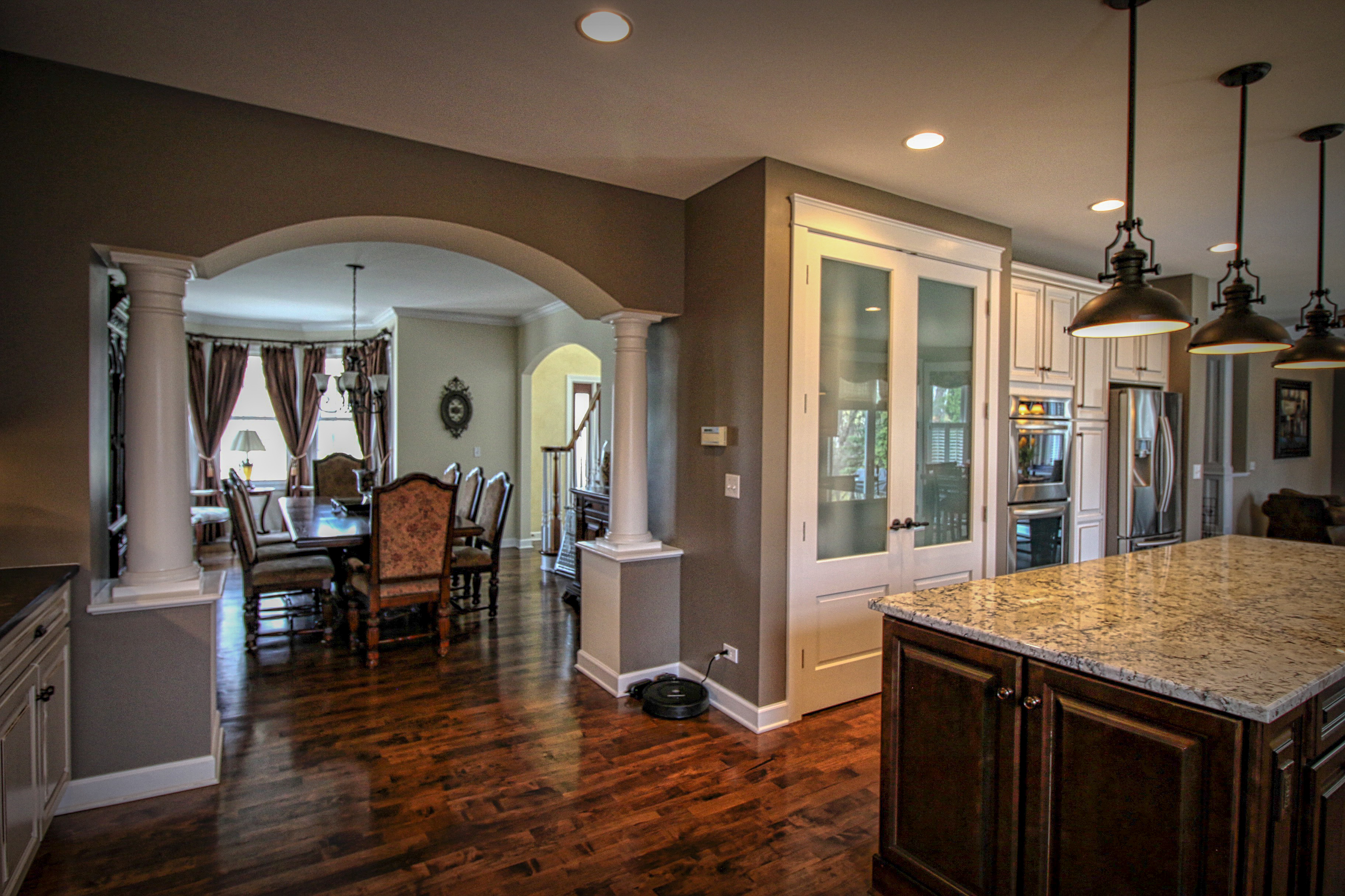 Remodel with Archways and Columns